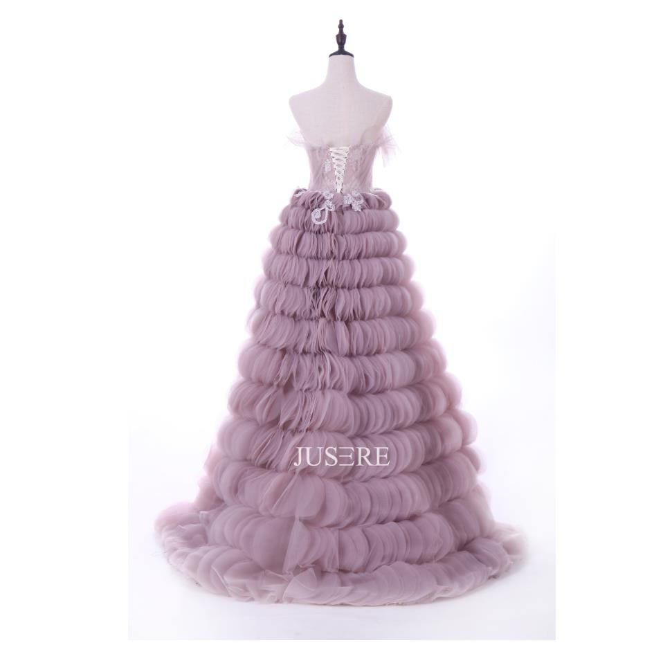 V-Neck Sleeveless Pink A-Line Evening   Dress   Beading Lace Strapless   Prom     Dress   with Sweep Train in Stock