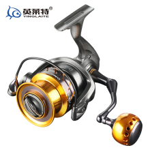 YLT Deep sea game reel heavy duty spinning jigging reel full metal handle 25kgs drag power saltwater fishing reel surf reel