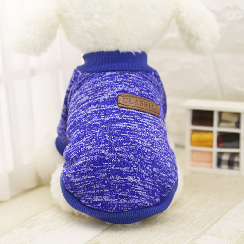 Dogs Pets Clothing Classic Pet Dog Puppy Fleece Sweater Warm Woolen Clothes Hot Sale 2017 Roupa Para Cachorro #6314