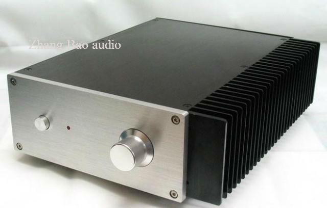 ФОТО Full Aluminum Power amplifier case + Unilateral heatsink