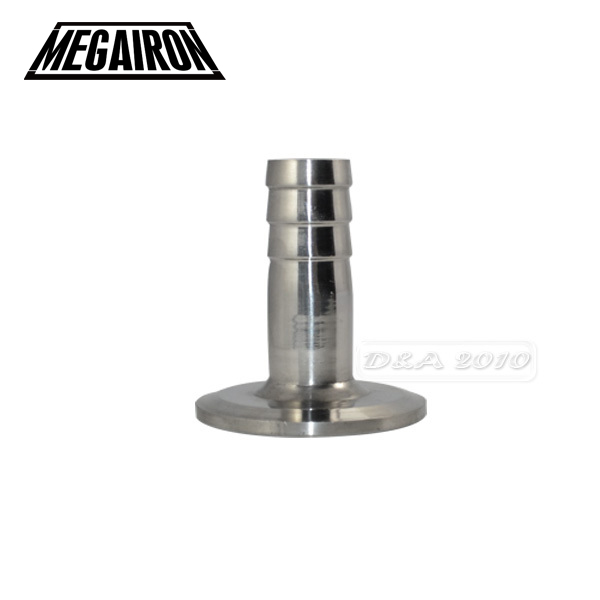 MEGAIRON 1/2 OD 12mm Stainless Steel SUS SS316 Sanitary Hose Barb Pipe Fitting  Ferrule OD 50.5mm fit 1.5 Tri Clamp lot 10 fit 105 127mm od hose 201 stainless steel hose hoop ring hose clamp ring for fuel line wrom cliper