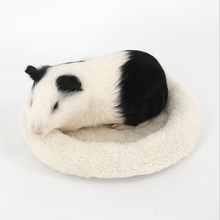 Hamster Sleeping Bag Rat Chinchilla Ferret Carrier Soft Fleece Guinea Pig Bed Puppy Mat Sleeping Bed For Small Dogs Pet Carrier