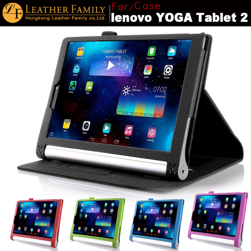 low priced 78dd2 599d8 US $24.99  For Lenovo Yoga Tablet 2 1050f case Luxury leather case For  lenovo yoga tablet 2 1050 10.1