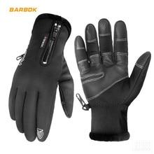 RIGWARL Winter Motorcycle Gloves Waterproof Windproof Fleece Thermal Moto Glove Touch Screen Leather Luva Motocross Gloves цена