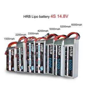 Image 3 - HRB RC Lipo Battery 2S 3S 4S 6S 11.1v 22.2v 5000mah 6000mah 3300mah 2200mah 4200mah 5200mah 7000mah Battery XT60 T Deans plug