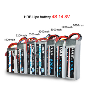 Image 3 - HRB RC Lipo batterie 2S 3S 4S 6S 11.1v 22.2v 5000mah 6000mah 3300mah 2200mah 4200mah 5200mah 7000mah mah batterie XT60 T Deans prise