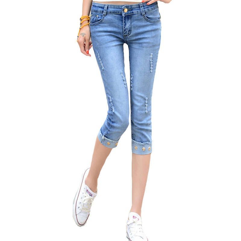 Online Get Cheap Skinny Jean Capris -Aliexpress.com | Alibaba Group