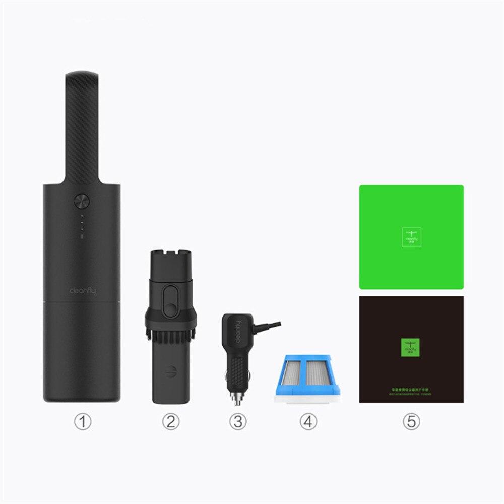 XIAOMI-Aspirateur de voiture 12V/2A | Pour voiture Portable, sans fil, à double usage, humide et sec
