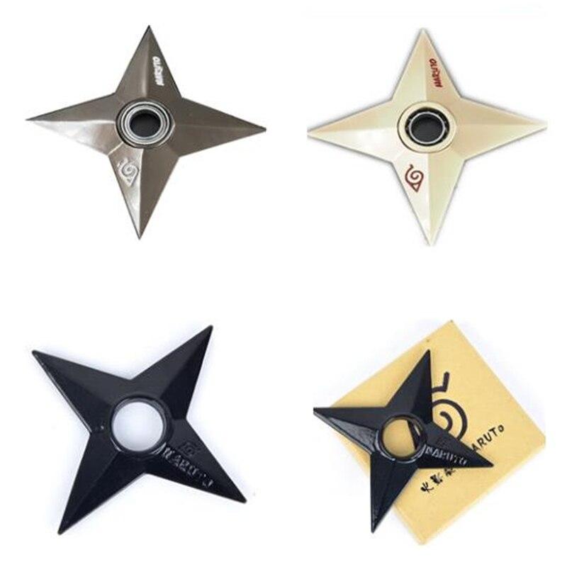 Japanese Classic Anime Naruto Rotates Shuriken Dart Bearing Rotates Anime Weapon Variety Adult Children Model Toy Gift.