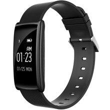 Новые N108 смарт-браслет 0.96 дюймов сердечного ритма Мониторы BT4.0 IP67 Водонепроницаемый сообщение push Smart Браслет для Android IOS Телефон