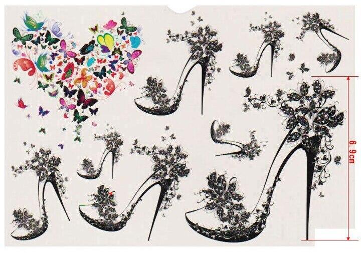 Henna Tattoo Kits For Sale: Wholesale 50pcs Mix Temporary Waterproof Tattoo Sticker