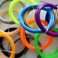 100M 20 Colors (5M/color) 3D Filament ABS /PLA 1.75mm 3D Filament For 3D Printing Pen 3D Printer