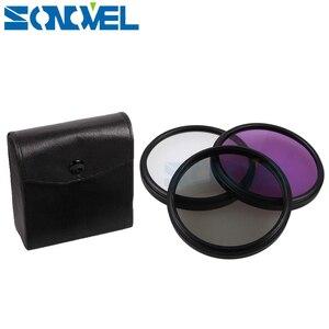 Image 5 - Kit de filtre dobjectif FLD CPL 55mm UV + capuchon dobjectif + pare soleil fleur pour Nikon D5600 D5500 D5300 D5100 D3400 D7500 D750 avec AF P 18 55mm