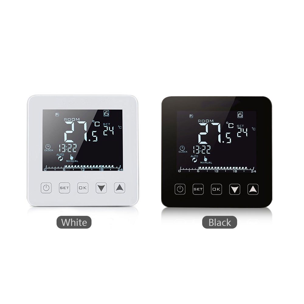 Thermostat Intelligent APP contrôle chauffage électrique écran tactile bureau Intelligent régulateur de température contrôleur Wifi Durable - 3