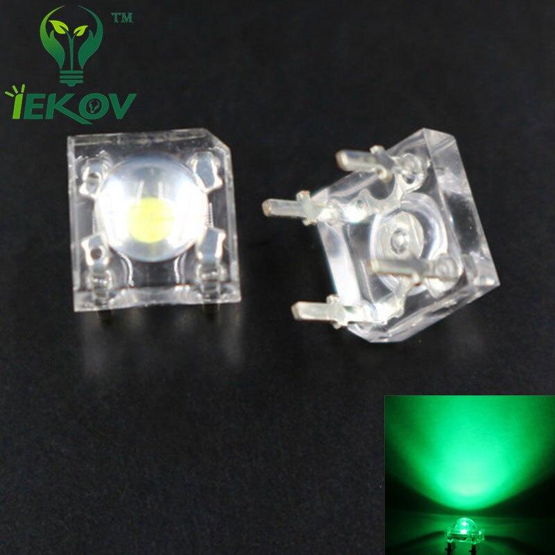 LED transparentes RGB RVB 5mm 4 broches CATHODE
