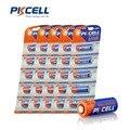Top Calidad PKCELL 25 Unids 23A12V batería 23AE 21/23 23GA MN21 PILA alcalina E23A LRV08 N21 EL12 Sinle uso envío gratis