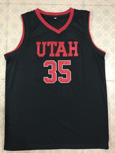 3c25ab65d87 2018 New  35 Kyle Kuzma Utah College throwback mens basketball jersey  Embroidery Stitched any number