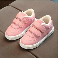 Boots for Girls Thicken Warm Pink Soft Bottom Children Boots Black Running Boys Winter Boot White Childrens Shoes
