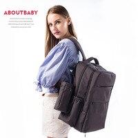 New Waterproof Backpack Diaper Bag Functionary Nappy Bag Large Diaper Backpack Cute Baby Nursing Bags Stroller Bags