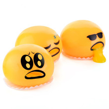 Novelty Gag Toy Practical Jokes Antistress Vomiting Egg Yolk Lazy Brother Fun Lizun Gadget Squeezed Slime Creative Gift oyuncak squishy sheep alpaca squish toys entertainment antistress girls fun gadget gags practical jokes squisy novelty gag toys