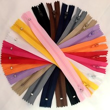 (16 Inch) 40CM 48pcs 3# Closed End Nylon Coil Zippers Tailor Sewing Craft 12color (Color U PICK)(China)