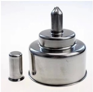 One pcs 200ml stainless steel alcohol stove alcohol burner lamp