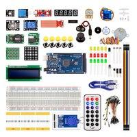 Mega 2560 r3 starter kit motor servo RFID Ultrasonic Ranging relay LCD FOR ARDUINO UNO