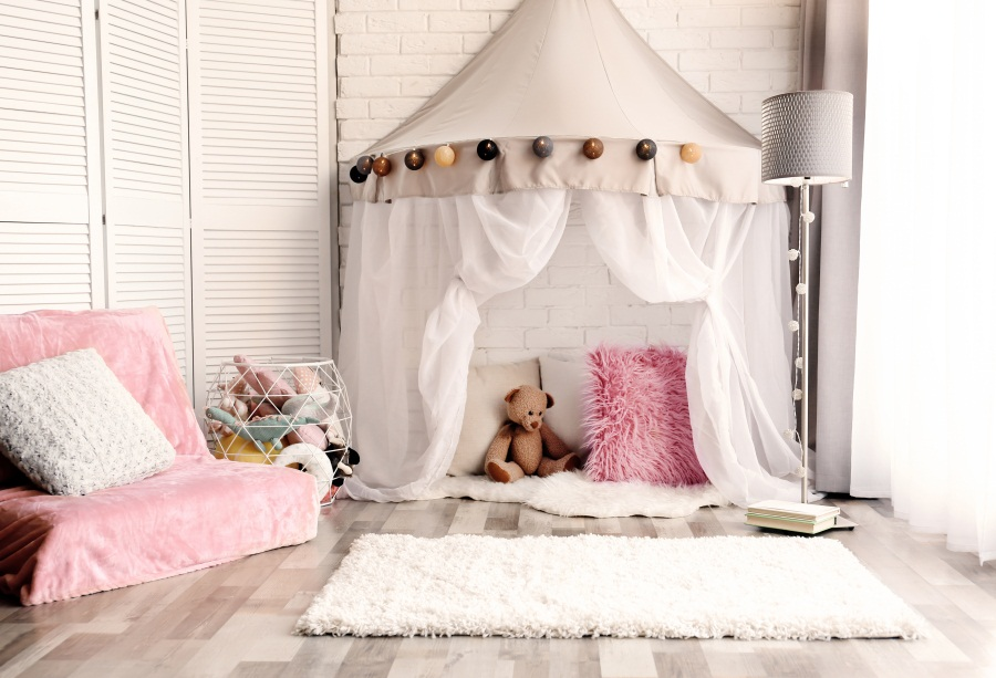 sofa tent carpet toy backgrounds curtain laeacco backdrops bear background photographic customized studio