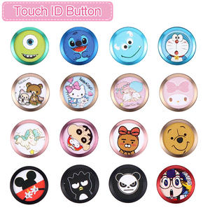 Touch Home Button Stickers For iPhone 5S 5C SE 6 6 S 7 8 Plus