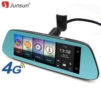 Junsun 4G Car Special DVR Camera Mirror Android GPS Navigation Bluetooth Dual Lens 1080P Video Recorder