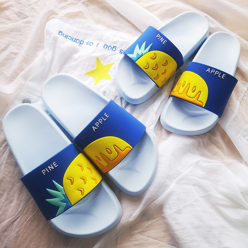 Women Summer Slippers Cute Fruits Watermelon Strawberry Soft Sole Beach Slides Indoor & Outdoor Slippers Sandals Women Shoes 4