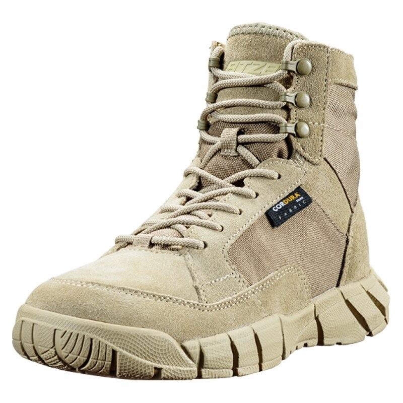 Militar do Exército Botas de Caça ao ar Treinamento de Acampamento Sapatos para Mulheres dos Homens Ultraleve Tático Livre Escalada Caminhadas Esportes Deserto Antiderrapante