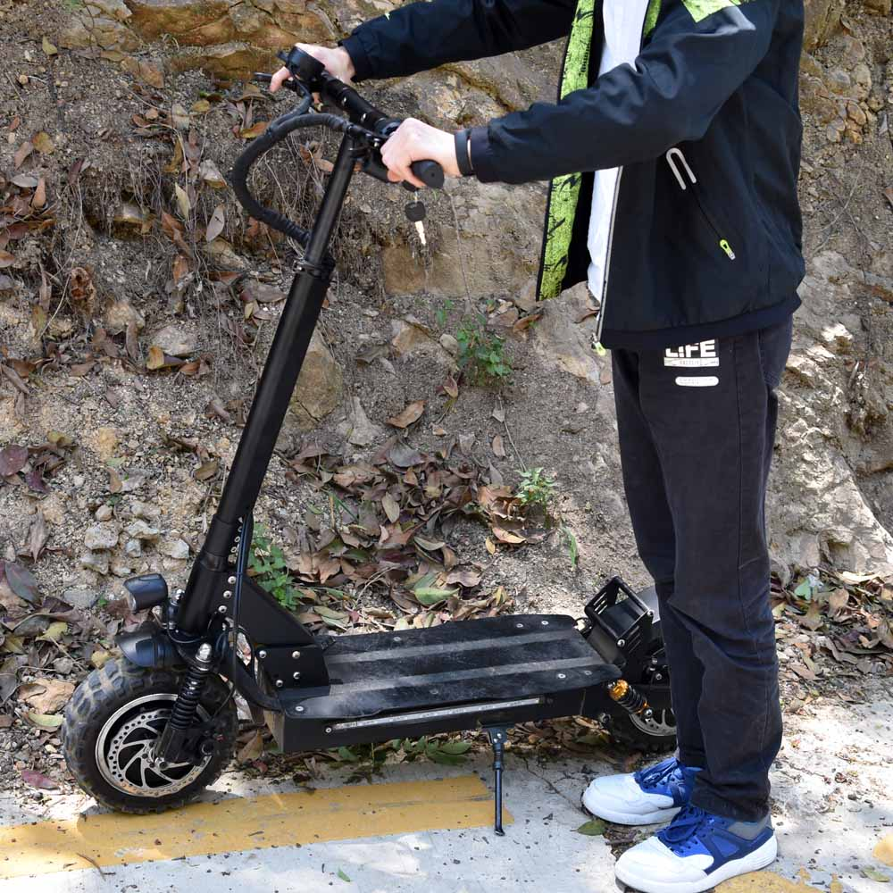 European warehouse <font><b>3200W</b></font> DUAL ENGINE 85KM/H fast speed Kick skateboard 11 inch 60v puissant trotinette electric <font><b>scooter</b></font> P1 image