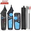 BSIDE FWT81 кабельный трекер RJ45 RJ11 телефонный провод сеть LAN ТВ электролиния Finder Тестер с AVD06 двойной режим Бесконтактный детектор напряжения пер...