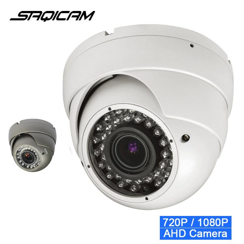 bilder für Neu! CCTV AHD 720 P 2000TVL 1080 P 3000TVL IR Mini Dome Analog AHD Kamera Freien Ir-schnitt-nachtsicht 2,8-12mm Vario-objektiv