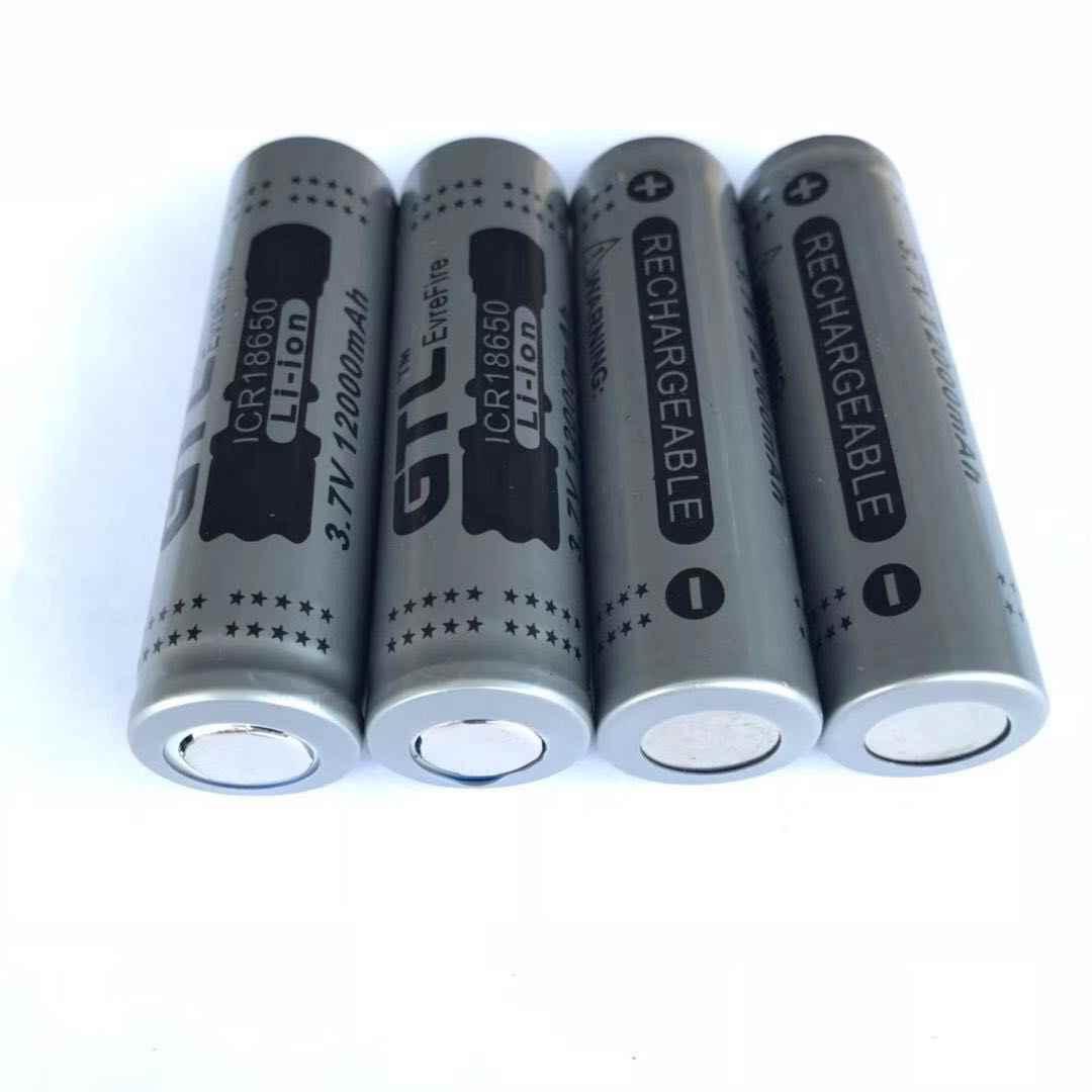 1/2/4/8/12/16/20 штук 18650 Емкость 3,7 V 12000 mAh Перезаряжаемые 18650 Li-Ion Батарея батареи 18650 для фонарик power bank