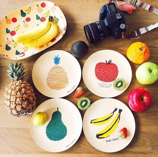 New Bobo Choses Baby Plates Kids Safety Melamine Fedding Dinner Plates Children Fruit Plate Dinnerware Dishes  sc 1 st  AliExpress.com & New Bobo Choses Baby Plates Kids Safety Melamine Fedding Dinner ...