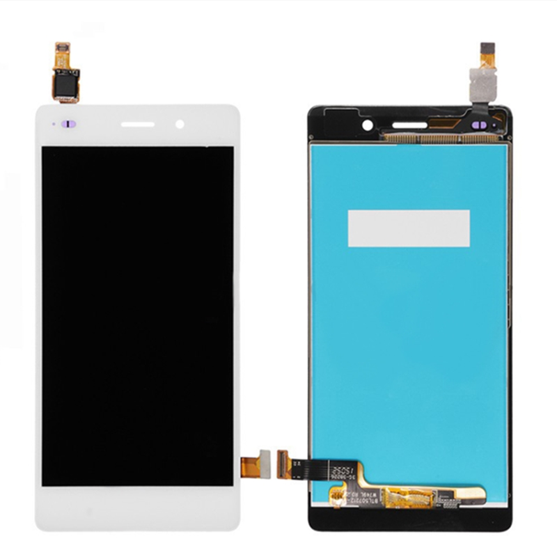 For Huawei Ascend P8 Lite ALE L04 L21 TL00 L23 CL00 L02 UL00 LCD Display Touch For Huawei Ascend P8 Lite ALE-L04 L21 TL00 L23 CL00 L02 UL00 LCD Display Touch Screen Digitizer Assembly Replacement With Frame