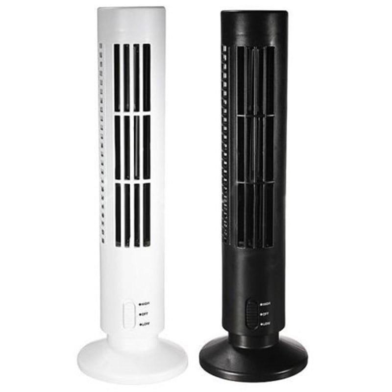 Mini Tragbare usb-ventilator USB lüfter Mini Haltbares Blattloser kein Blatt Klimaanlage Kühlen home-Office Schreibtisch Turm Fan