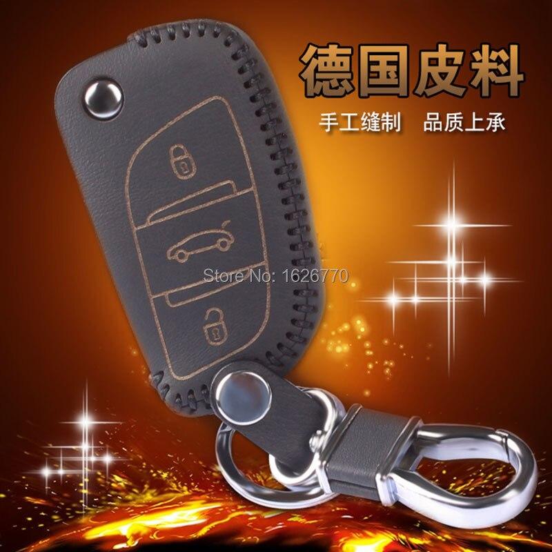 Genuine-Leather-Car-Key-Wallet-For-Citroen-C5-C4L-Leather-Keychains-3-Button-Leather-Car-Wallet (1).jpg