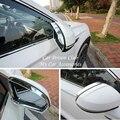 Для VW T-Cross 2019 зеркало заднего вида дождевик для бровей накладка рамка заднего вида украшение ABS хромированные наклейки автомобильные аксесс...