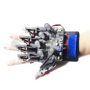 Open source somatosensory glove Wearable mechanical glove/exoskeleton somatosensory control/robot Arduino controller