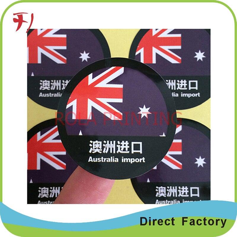6a29c1897 Cheap auto adesiva transparente BOPP/PP/PE/PET/PVC etiqueta, logotipo  personalizado brilho adesivo