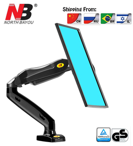 """Image 1 - NB F80 Desktop17 27 """"LCD LED Monitor Houder Arm Gasveer Full Motion TV Mount Laden 2 6.5kgs"""