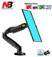 """NB F80 Desktop17-27 """"LCD LED-Monitor Halter Arm Gas Frühling Full-Motion TV Montieren Laden 2-6.5kgs"""