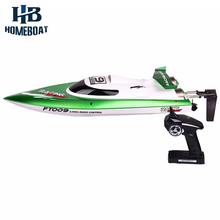 Hot Sale FT012 Upgraded FT009 2.4G Brush  Remote Control Racing Boat 30KM/H High Speed RC Boat Toy