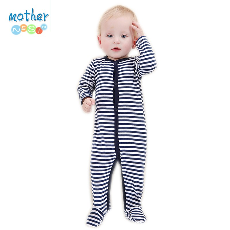 2016 Retail New Fashion Baby Romper Clothing Body Suit Newborn Long Sleeve Kids Boys Girls Rompers Baby Clothes Roupa Infantil (6)