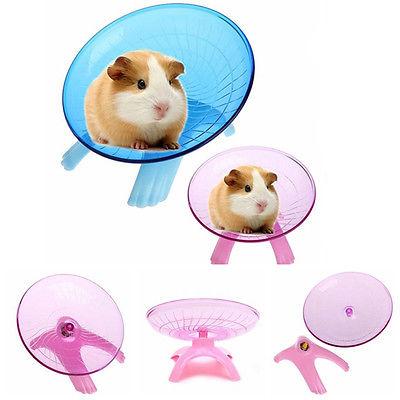Doublele Pet Toy Hamster Running Disc Pet Exsecise Flying Saucer Sport Wheel