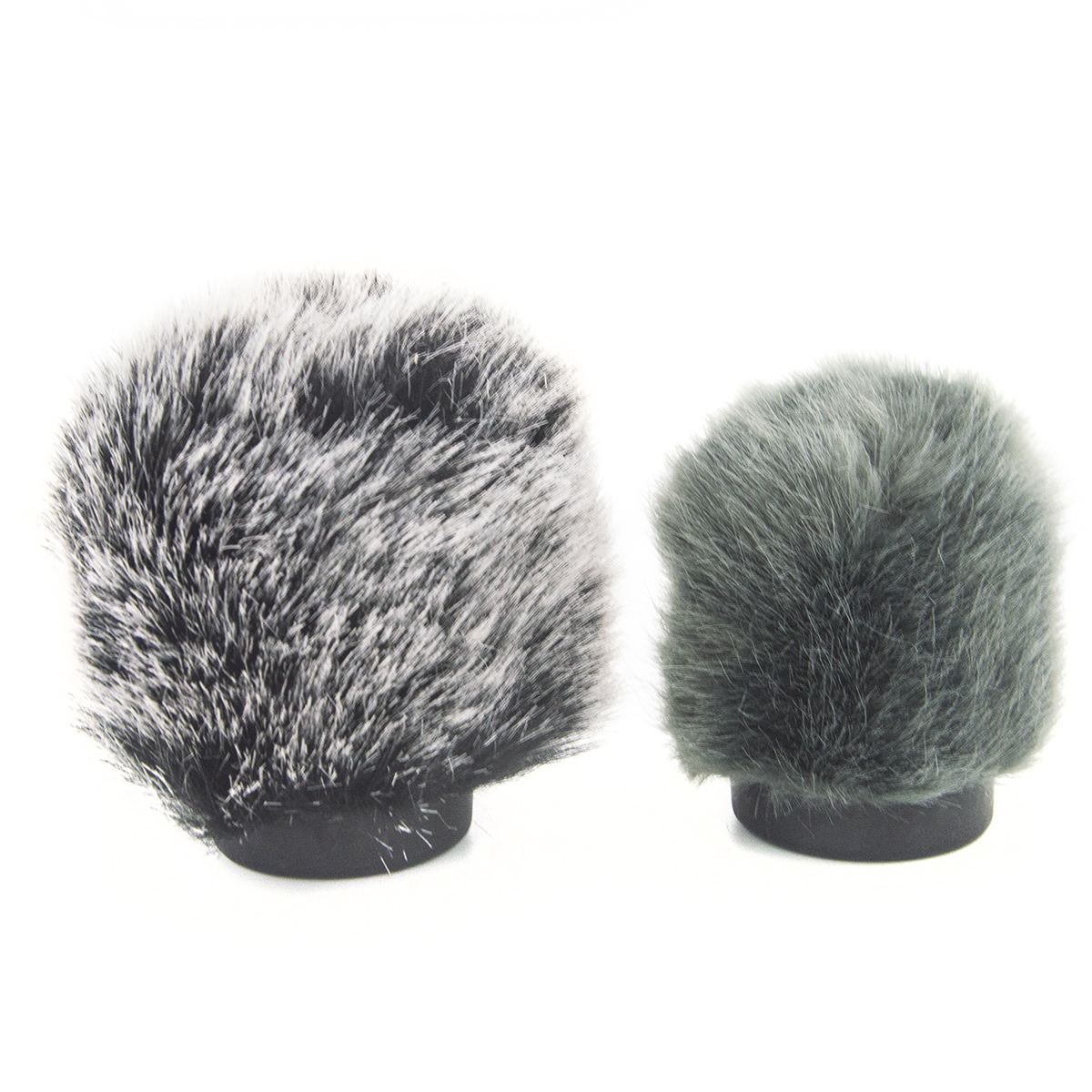 Coolvox Fur Windscreen Furry Windshield Muff For Condenser Microphone Wind Shield Protection Outdoor Interview Mic Cover 6.5cm