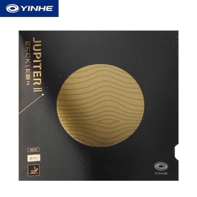 Yinhe Galaxy JUPITER 2 II (липкий, атака и петля, заводские настройки) резиновый Настольный теннис с губкой для пинг-понга Tenis De Mesa